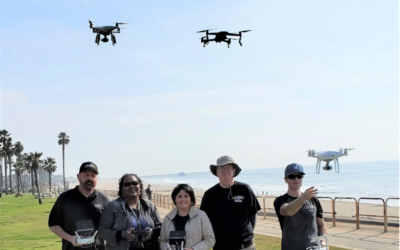 OC Register: Fullerton College's drone program is growing, now helping shark research