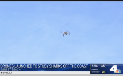 NBC News: Innovative Drone Project Launched to Map Sharks